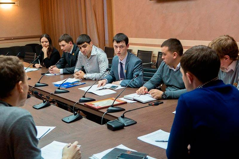 Заседание Президиума Молодежного парламента Удмуртии