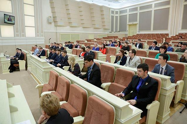 Сессия Молодежного парламента Удмуртии