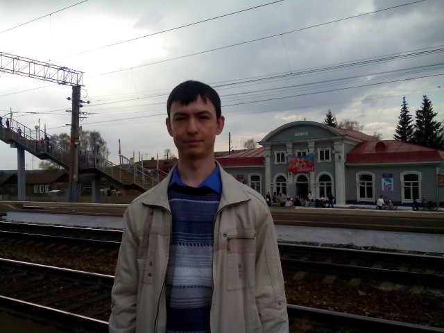 На ж/д вокзале