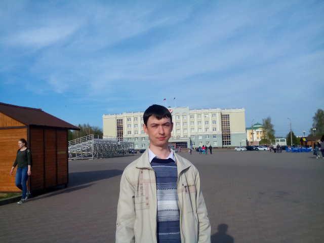 На центральной площади Ижевска