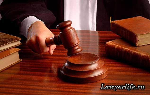 Рассмотрение заявления в суде