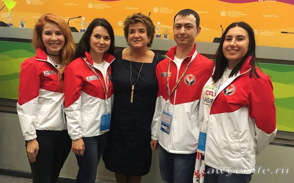 С Любовью Глебовой - членом Совета Федерации РФ от Удмуртской Республики