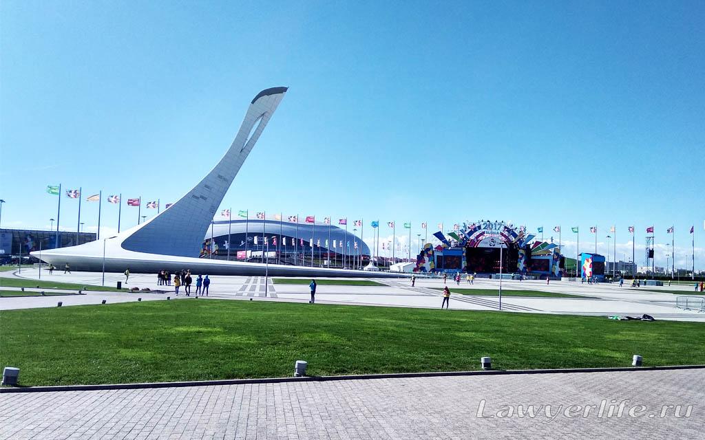 Площадь Medals Plaza
