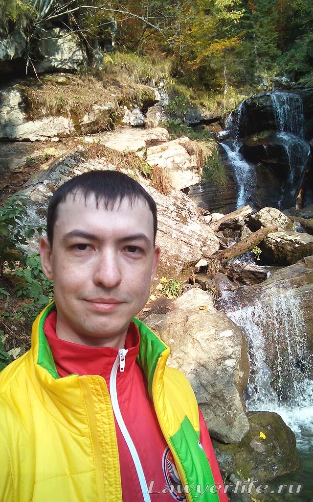 Водопады, природа, чистый горный воздух.